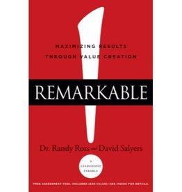 DR. RANDY ROSS Remarkable