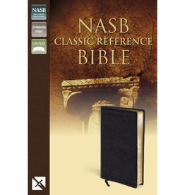 NASB CLASSIC REFERENCE BIBLE BLACK LEATHER