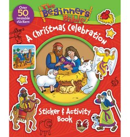 The Beginner's Bible A Christmas Celebration Sticker & Activity Book