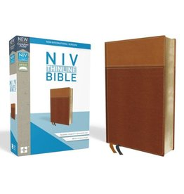 NIV Thinline Bible - Tan