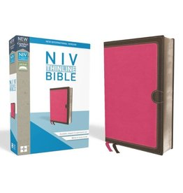NIV Thinline Bible Imatation Leather Pink Red Edition