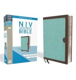 NIV Thinline Bible - Turquoise