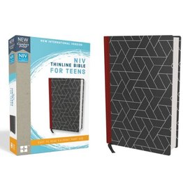 NIV Thinline Bible For Teens - Black Shapes