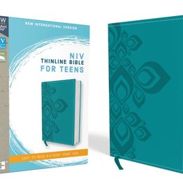 NIV Thinline Bible For Teens - Carribean Blue