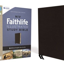 NIV Faithlife Illustrated Study Bible - Black