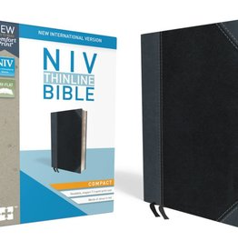 NIV Thinline Bible Compact - Black/Gray