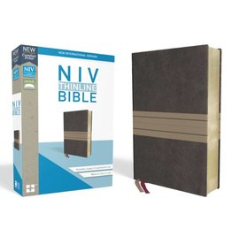NIV Thinline Bible - Chocolate/Tan