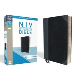 NIV Thinline BIble - Black/Gray