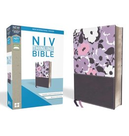 NIV Thinline Bible - Pink Orchid/Grape