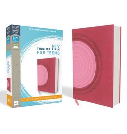 NIV Thinline Bible For Teens - Hot Pink/Pink