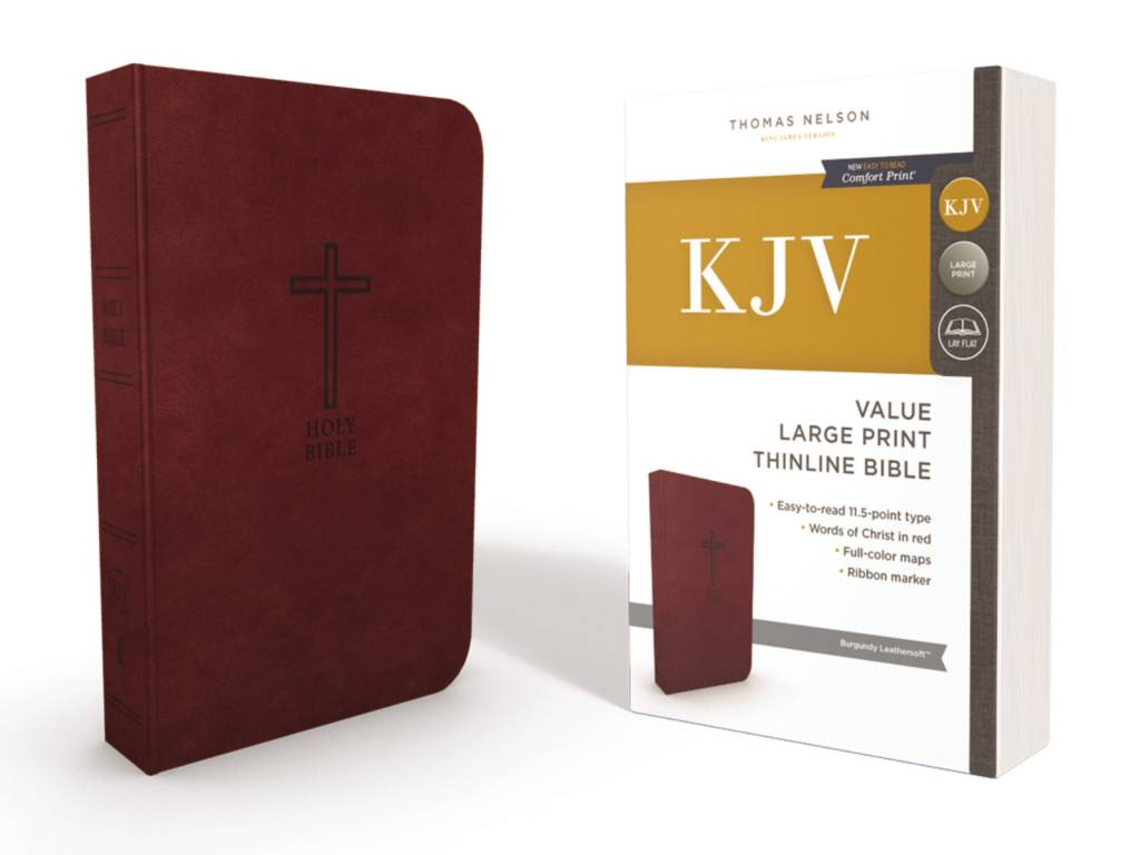 KJV Value Large Print Thinline Bible