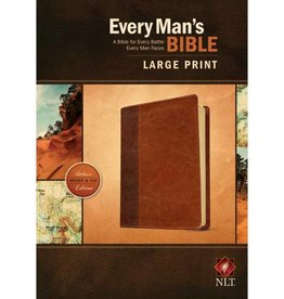 Every Man's Bible-NLT-Large Print