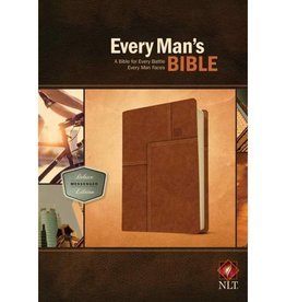 Every Man's Bible-NLT Deluxe Messenger