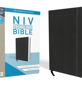 NIV Thinline Bible - Black Red Letter Edition