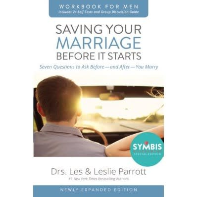 Leslie Parrott Saving Your Marriage Before It Starts Workbook For Men