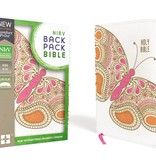 NIRV Backpack Bible Pink Butterfly