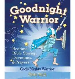 SHEILA WALSH Goodnight Warrior Bedtime Bible Stories, Devotions & Prayers