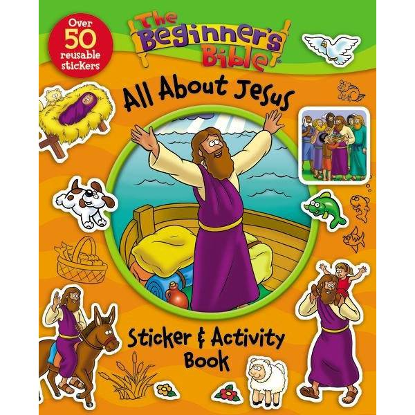 All About Jesus Sticker & Activity Book