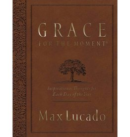 Max Lucado Grace For The Moment - Brown
