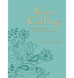 SARAH YOUNG Jesus Calling Large Print - Turquoise