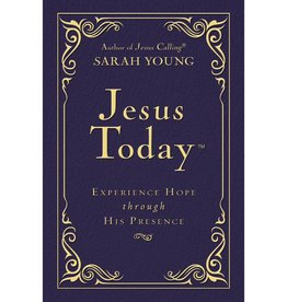 Sarah Young Jesus Today - Blue Leather