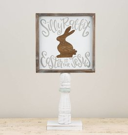 Silly Rabbit Wood Stand