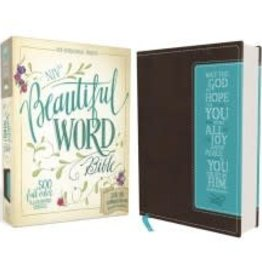 NIV Beautiful Word Bible - Chocolate Leather