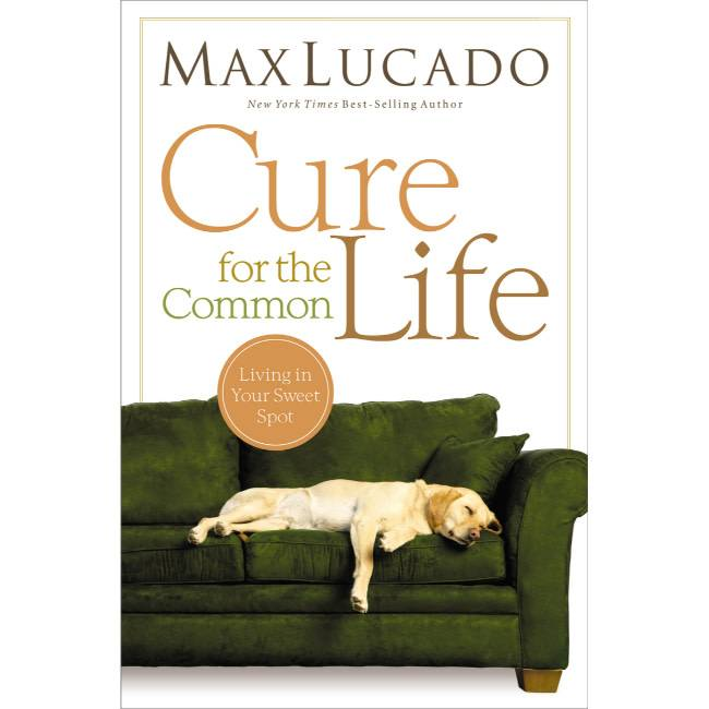 Max Lucado Cure For The Common Life