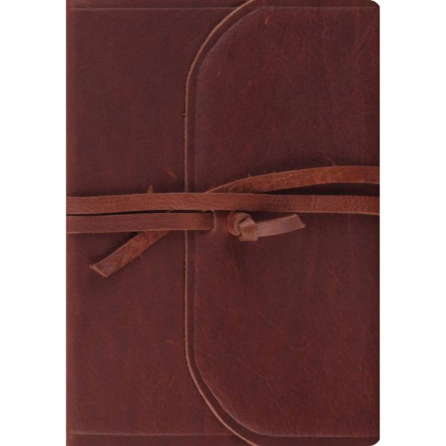 ESV Journaling Bible Interleaved Edition - Natural Leather