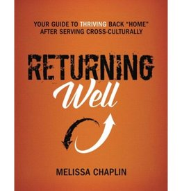 MELISSA CHAPLIN Returning Well