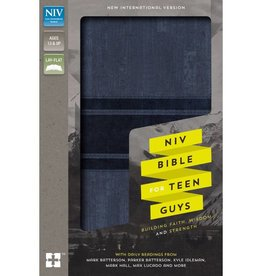 NIV Bible For Teen Guys - Blue