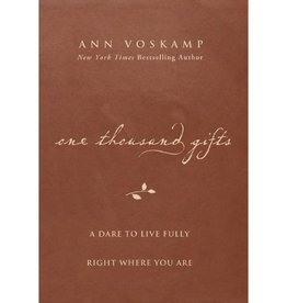 ANN VOSKAMP One Thousand Gifts - Brown Leather Edition
