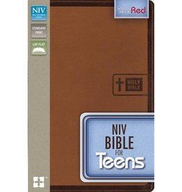 NIV Bible For Teens - Brown Imitation Leather