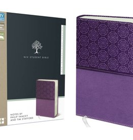 NIV Student Bible - Lavender Imitation Leather