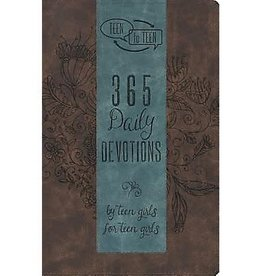 Patti M Hummel Teen To Teen: 365 Daily Devotions By Teen Girls For Teen Girls - Leather Edition