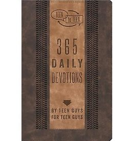PATTI M. HUMMEL Teen To Teen: 365 Daily Devotions By Teen Guys For Teen Guys - Leather Edition