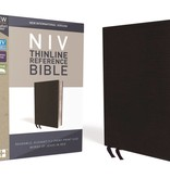 NIV Thinline Reference Bible - Black