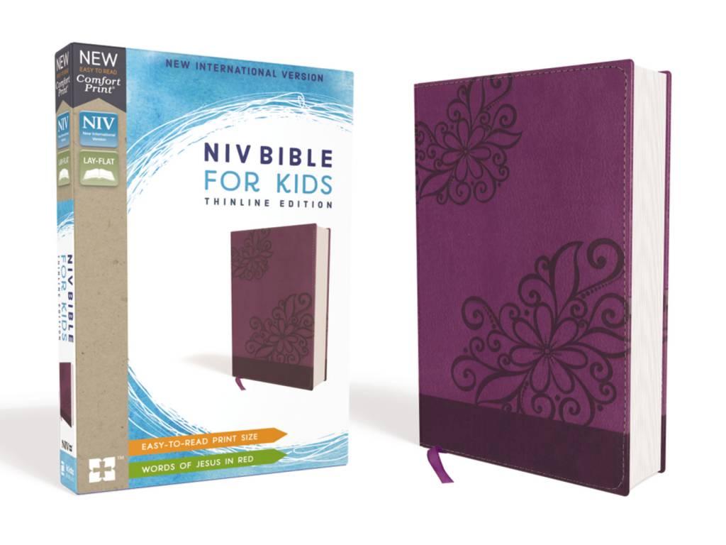 NIV Bible For Kids Thinline Edition - Purple