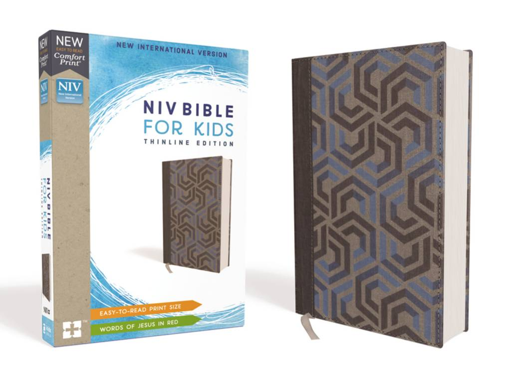 NIV Bible For Kids Thinline - Blue