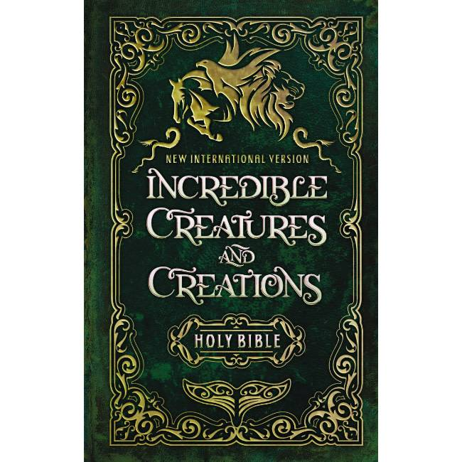 NIV Incredible Creatures And Creations Bible