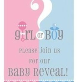 8 Gender Reveal Invitations