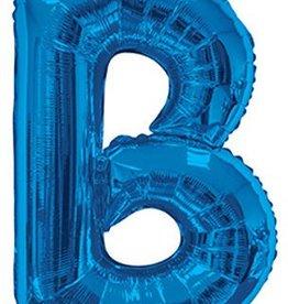 "34"" Royal Blue Jumbo Letter B Balloon"