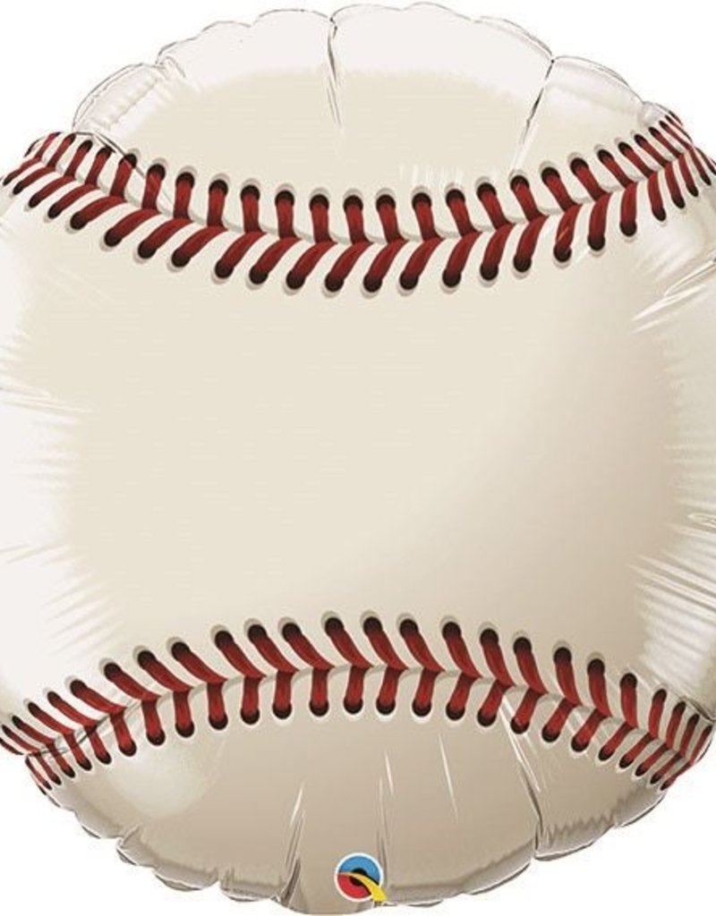 "36"" Baseball Foil Balloon"
