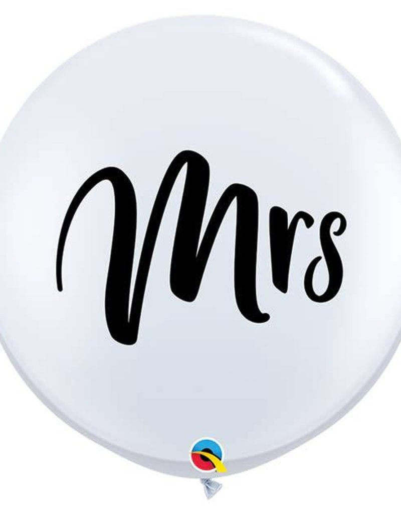 Giant Mrs. Latex Balloon