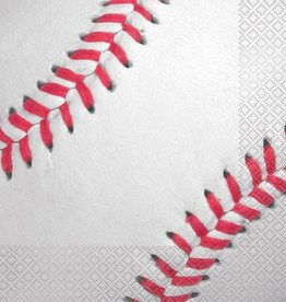 16 ct Baseball Napkins