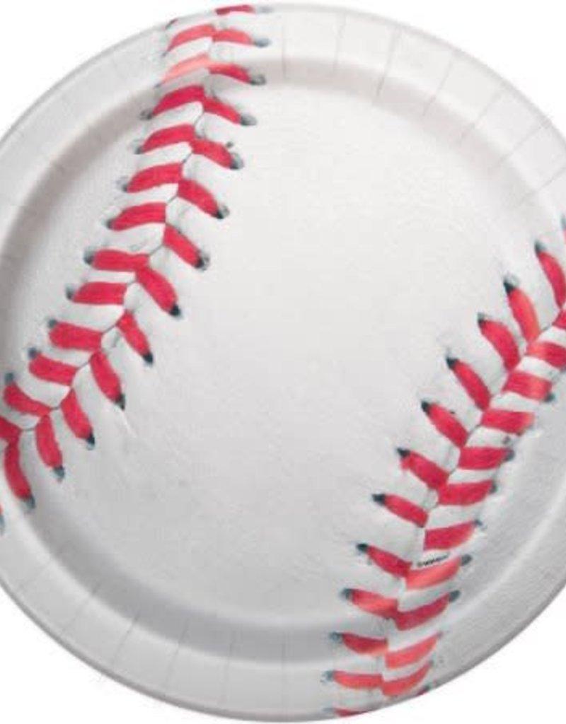 """9"""" Baseball Plates"""