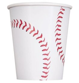 9oz Baseball Cups