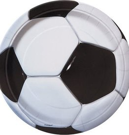 9inch Soccer Plates