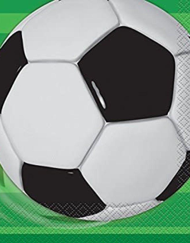 16ct Soccer Napkins