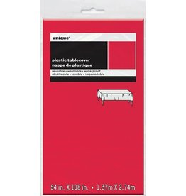 Rectangular Red Tablecover